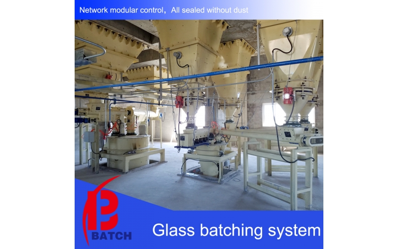 Glass batch system